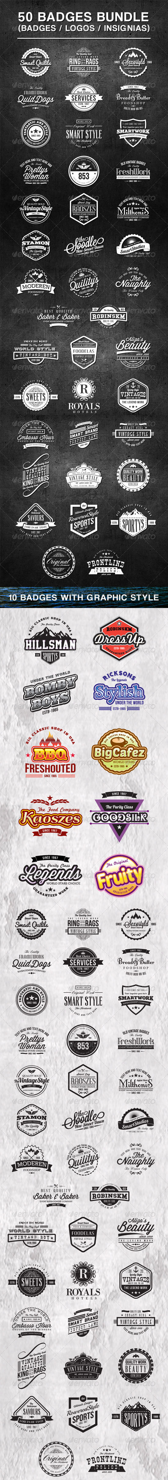 Best Badges and Logos Template
