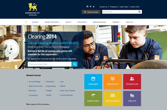 best designed college websites