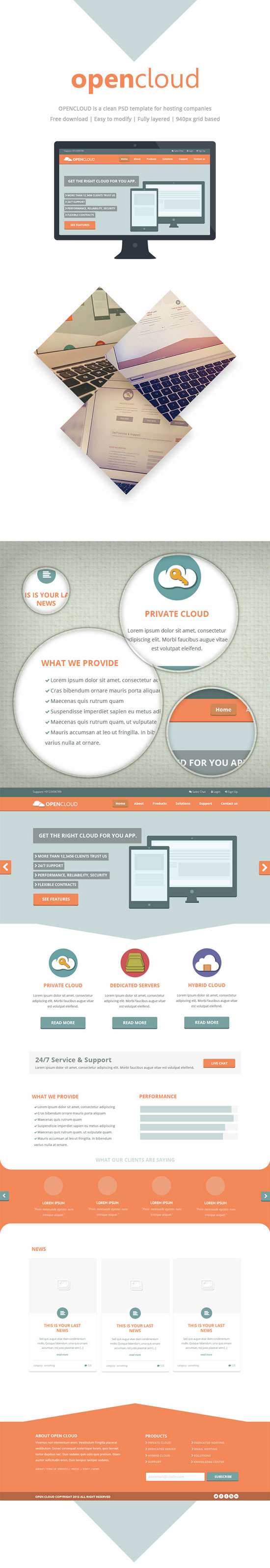 Best Free PSD Templates