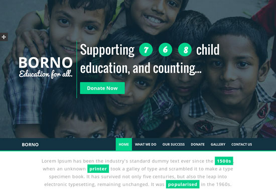 Best Charity Website Templates