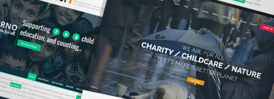 Charity Website Templates