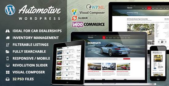 Best Car Dealer WordPress Themes