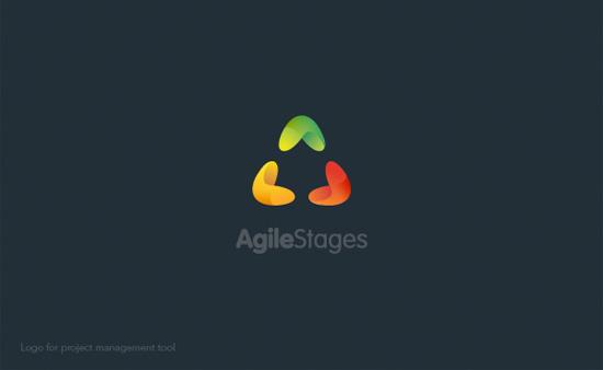 Diseños de logotipo colorido