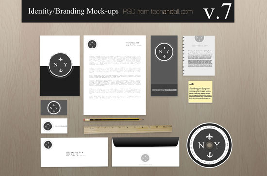 Free Branding/Identity Mockups