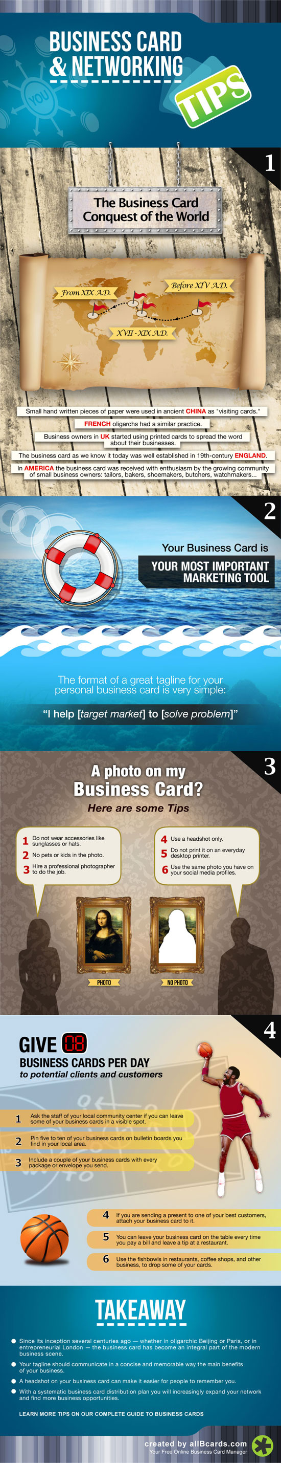 Business Card and Networking Tips