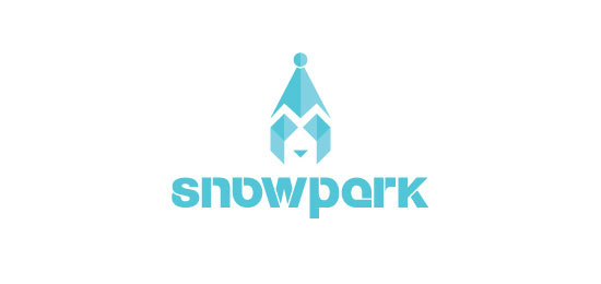 a showcase of 25 great winter logo designs