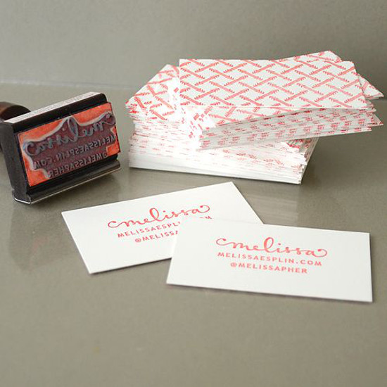 Stamp Business Cards
