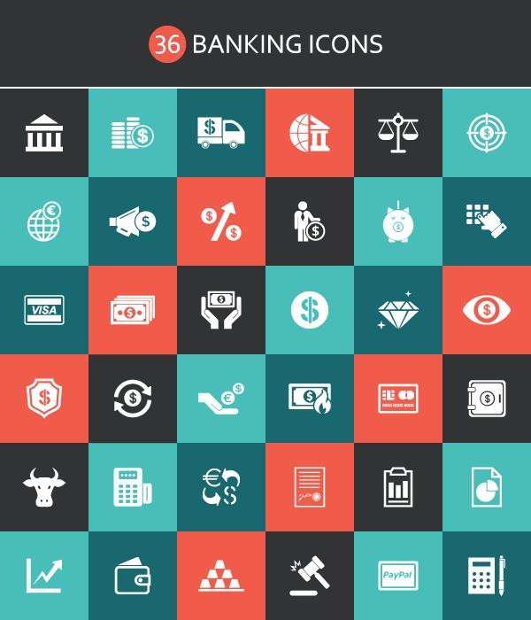 Free Banking Icons