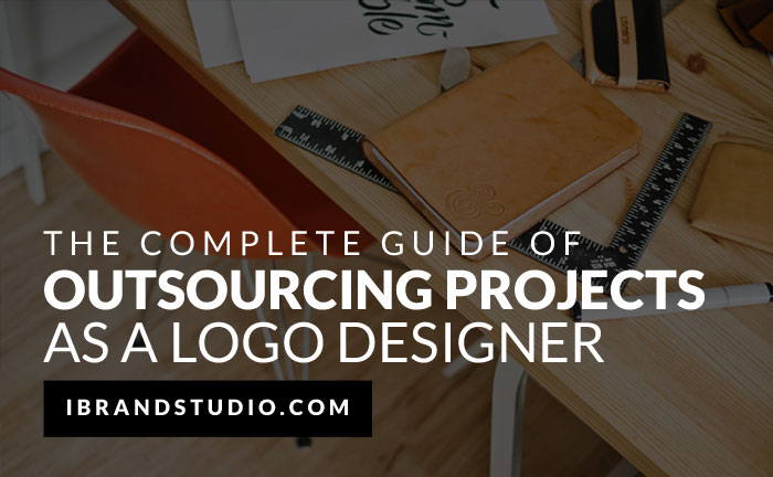 Outsourcing Guide Logo Designer