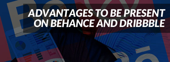 Advantages Behance Dribbble for Logo Designer