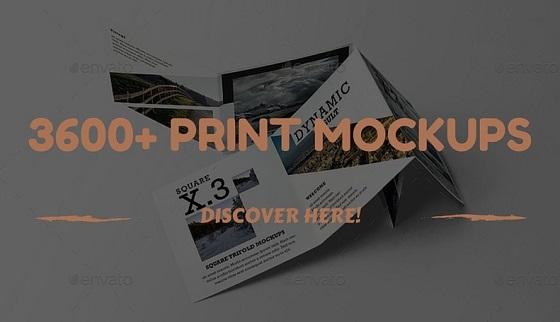 Premium Print Mockups
