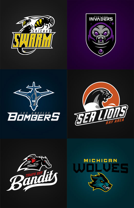 Logo Design Inspiration: 100+ Sport Club Logos