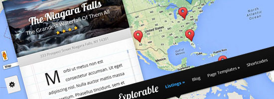 Travel Blog WordPress Template