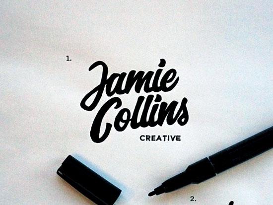 Ideas de logos con letras manuscritas