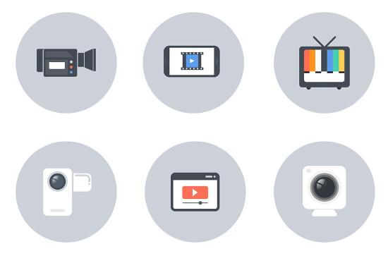 Free Video Icons
