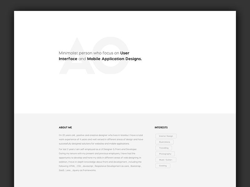 Resume Websites