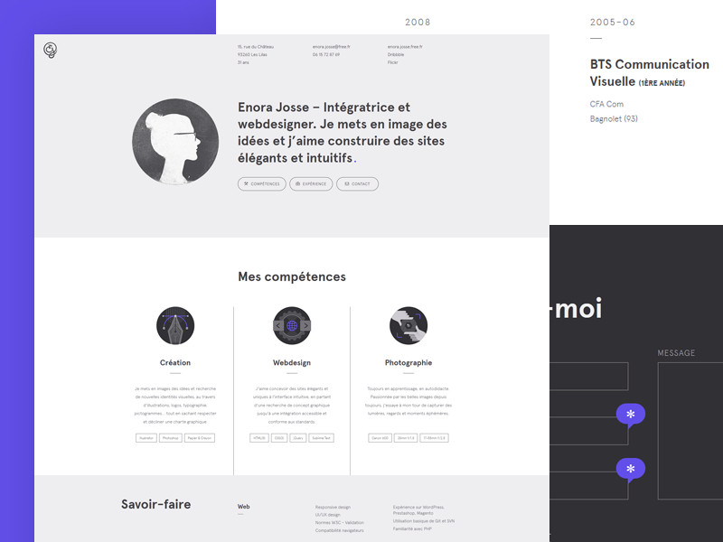 19 Creative Resume Websites for Your Inspiration