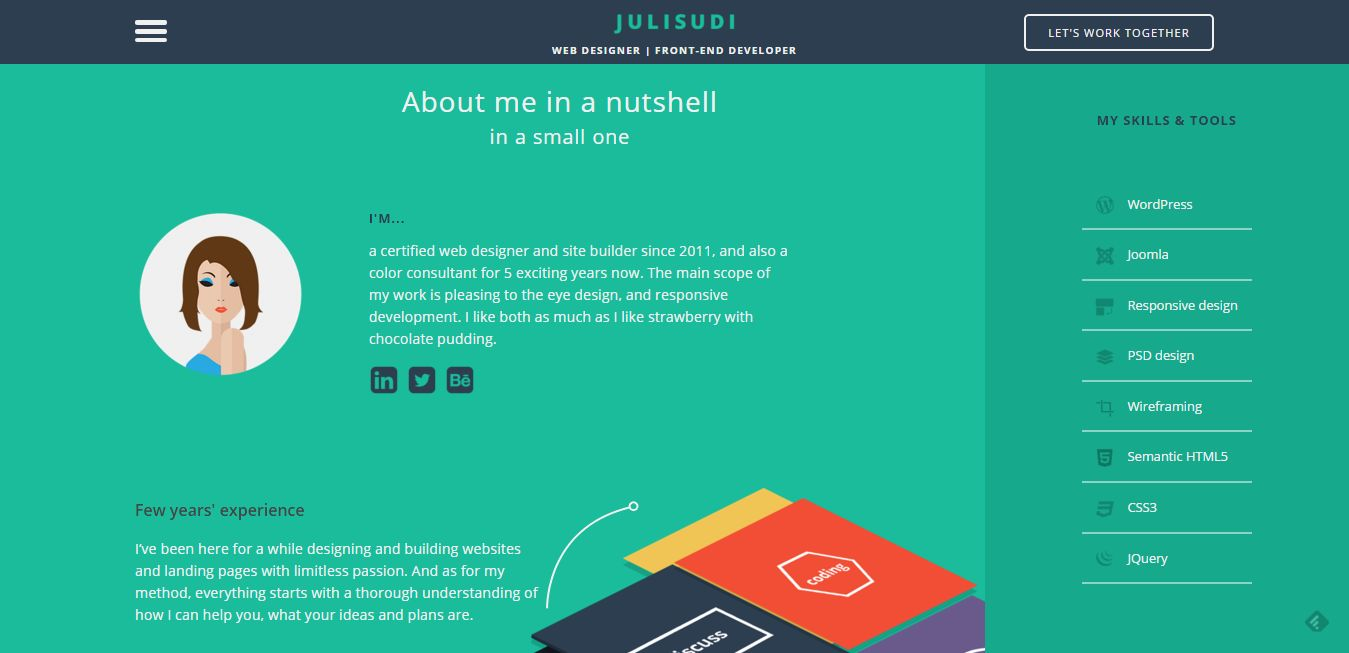 Resume Website Beauteous 48 Creative Resume Websites For Your Inspiration