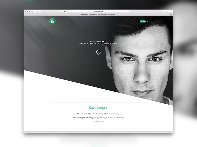 resume websites flatrica flat cvresume html site template a brand