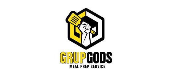 GRUPGODS Meal Prep Service Logo Design by 48hourslogo