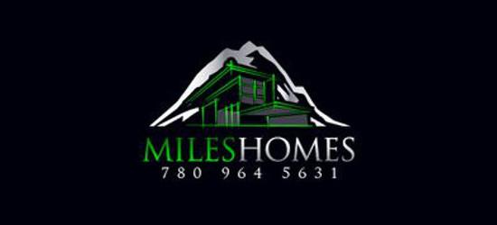 MilesHomes Logo Design by 48hourslogo