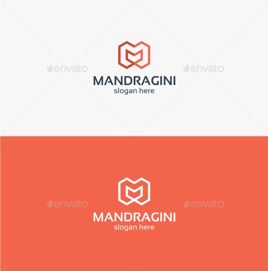 Mandragini Letter M - Logo Template by trustha