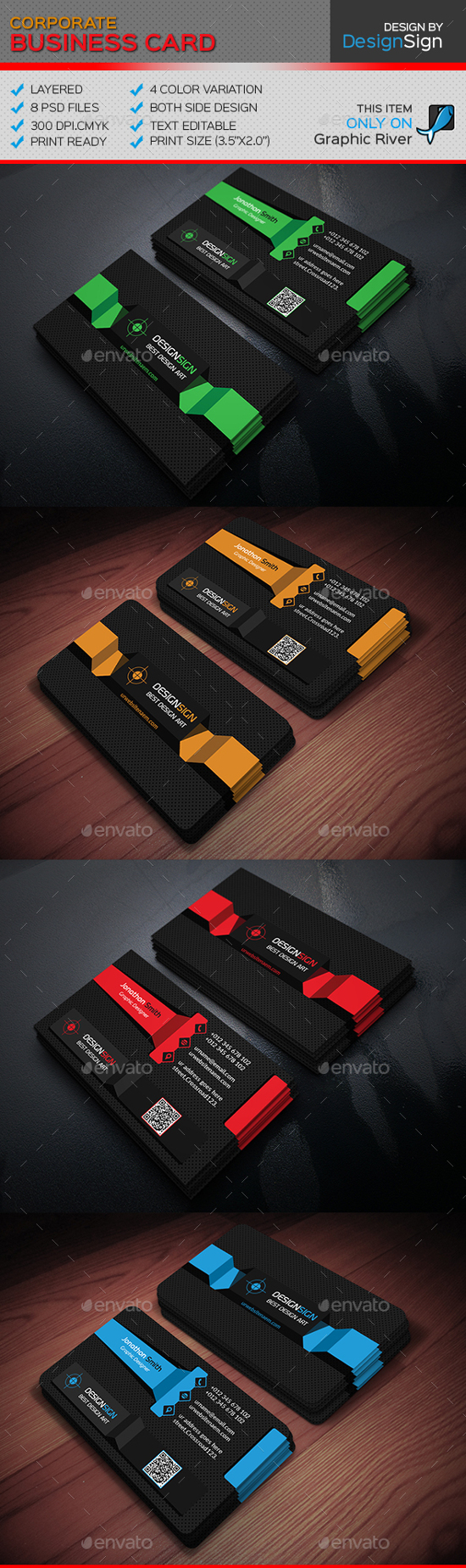 17 best business card templates for corporate business card templates wajeb Image collections
