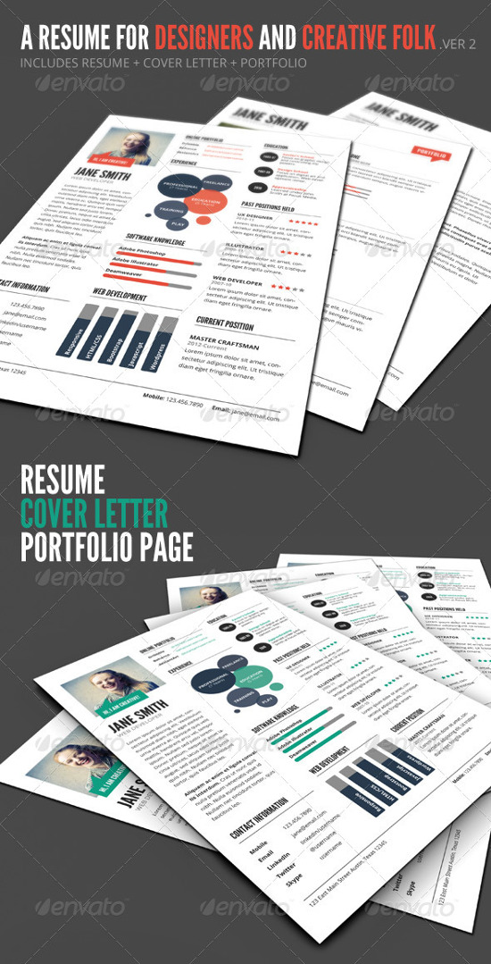 Infographic Resume Templates For You