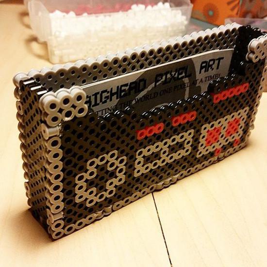 NES controller business card holder