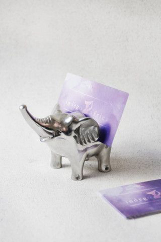 Elephant Business Card Holder