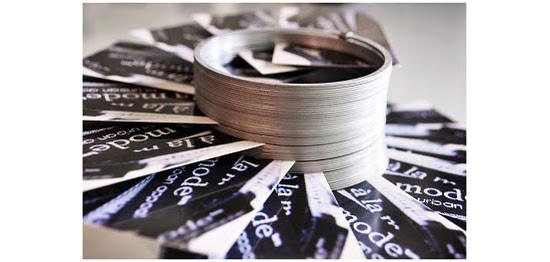 Slinky Business Card Holder