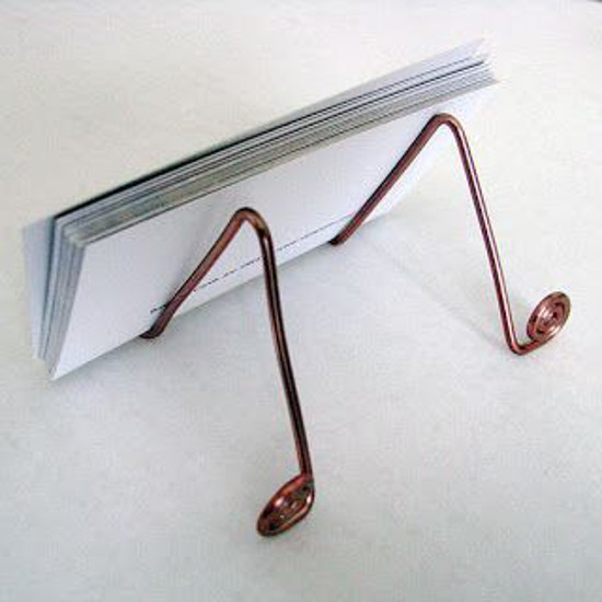Wire Business Card Holder