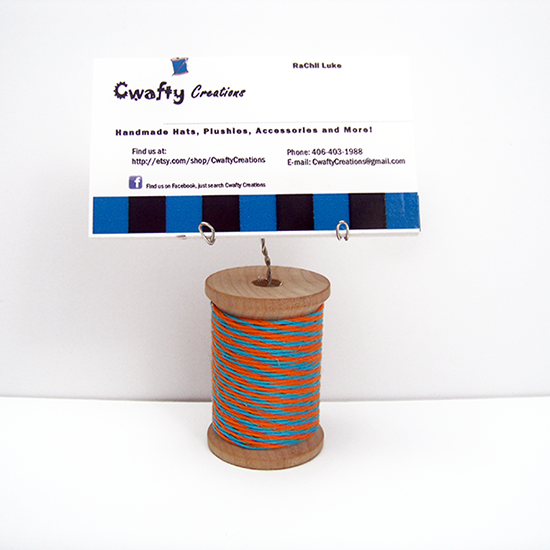 Spool Business Card Holder