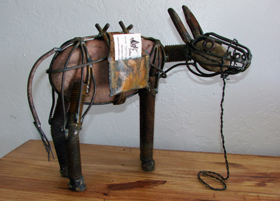 Burro Business Card Holder