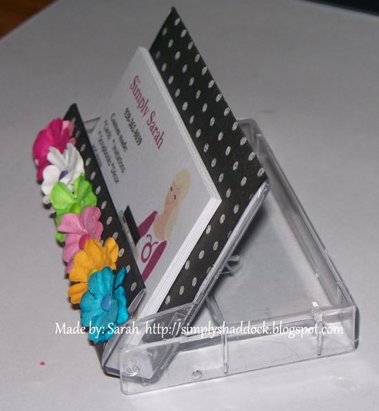 Casette Tape Case Business Card Holder