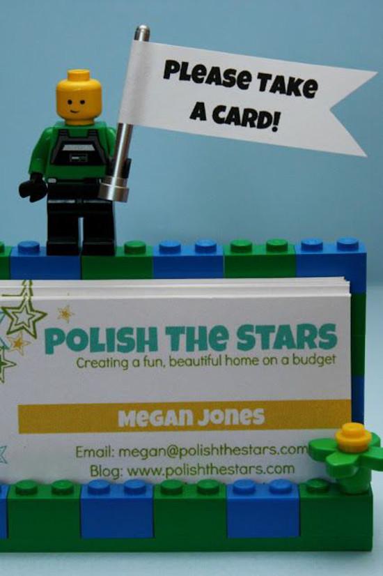 LEGO Business Card Holder