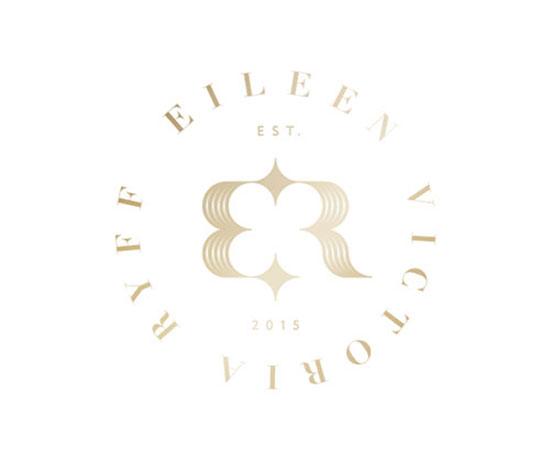 Logotipos tipo monograma Modernos y Elegantes - Eileen Ryff por Paul Saksin