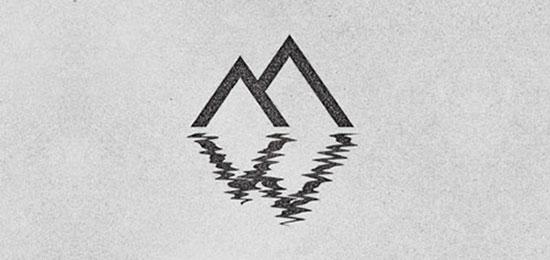 Logotipos tipo monograma Modernos y Elegantes- Mountain West de Alex Rinker