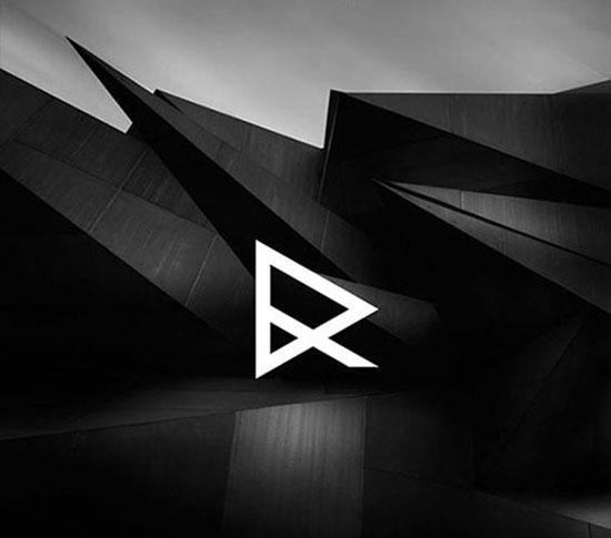Logotipos tipo monograma Modernos y Elegantes - DR Identity por Dominico Ruffo