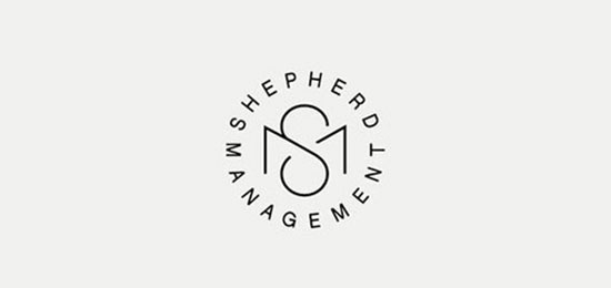 SM Monogram Design by British Freelance Designer