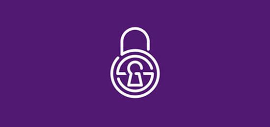 SSG / seguridad / candado / cerradura para taquilla / monograma por Alex Tass