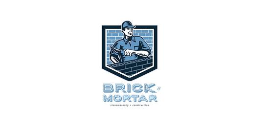 Brick and Mortar Stone Masonry and Construction by patrimonio