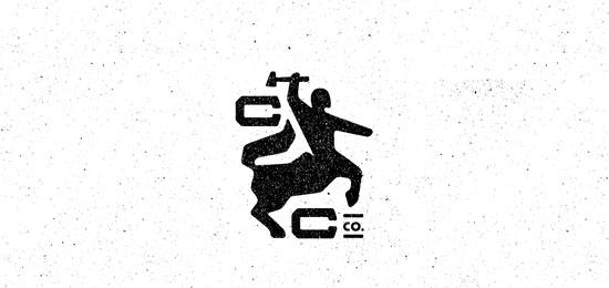 hemos recopilado los mejores y más creativos ejemplos de logotipos para empresas de construcción.  - Construction Co. de Brandon Murray