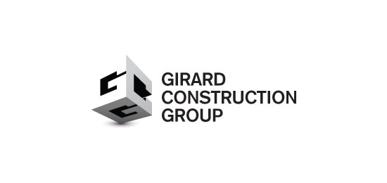 modelo de logo para empresa que contruye  - Girard Construction Group de hotsauze
