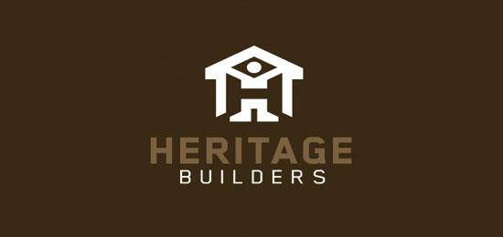 hemos recopilado los mejores y más creativos ejemplos de logotipos para empresas de construcción.  - Constructores del patrimonio de CreativeNRG