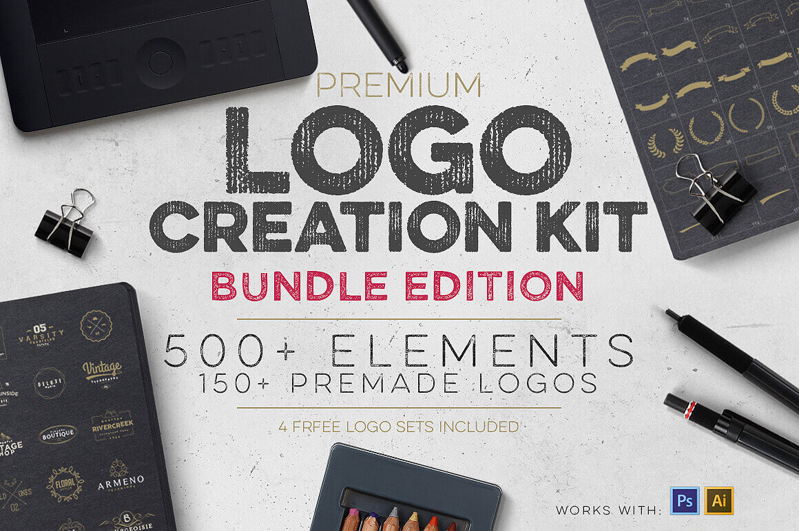 Logo Creation Kit Bundle