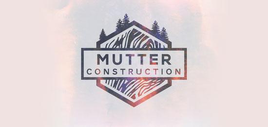 hemos recopilado los mejores y más creativos ejemplos de logotipos para empresas de construcción.  - Construcción de murmullo por Ian