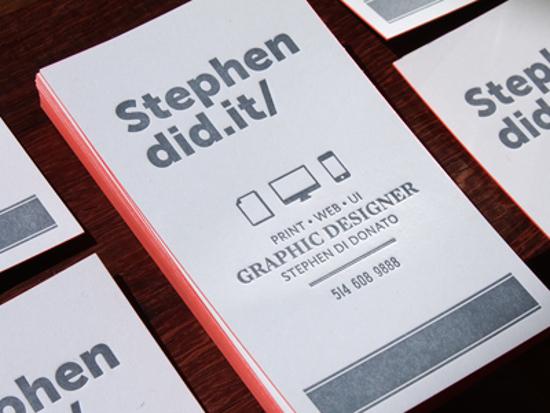 Stephen Di Donato's Business Card