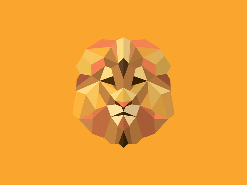 low polygon logo designs 45 amazing animal logos