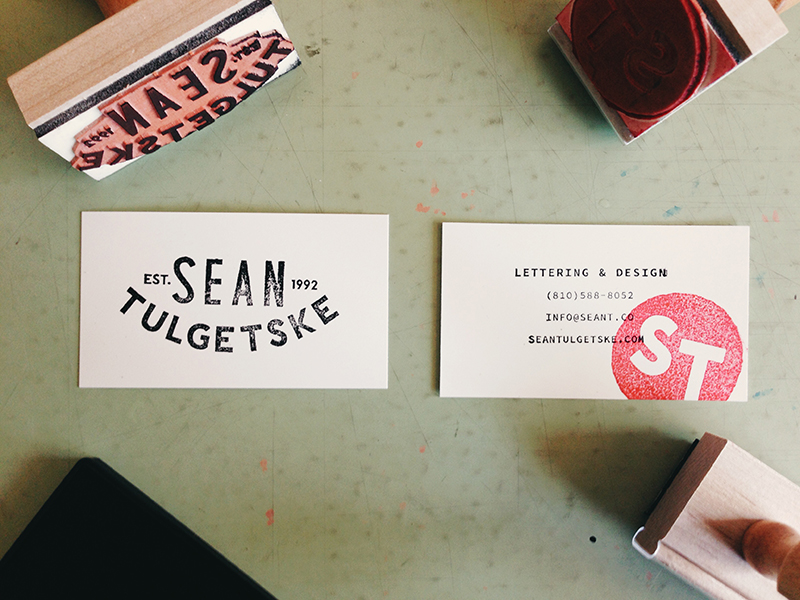 Sean Tulgetske's Business Card